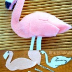 How to make a Felt Flamingo