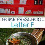 Home Preschool: Letter F