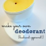 our homemade deodorant that works