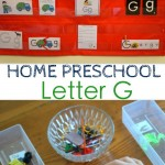Home Preschool : Letter G