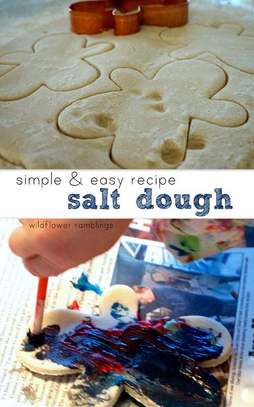 Best salt dough recipe!!  TRY FOR CHRISTMAS ORNAMENTS!!  Wildflower Ramblings