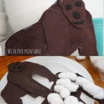 How to make a Felt Gorilla