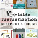 Bible Memorization Resources for Children