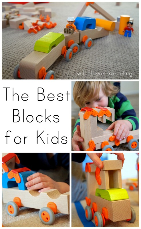 the best blocks for kids - haba blocks review