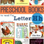 preschool books for the letter h