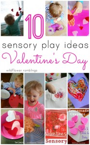 Valentine's Day Sensory Play