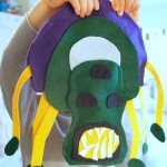 bringing literature to life: a felt space monster