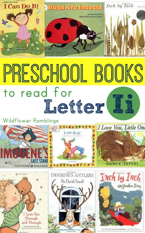 Preschool Books for Letter Ii!! Great book lists for the alphabet!!