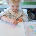 abstract painting for children