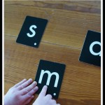 Montessori three period lesson: teaching letter sounds
