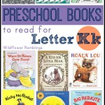 preschool books for letter k