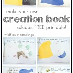 make your own creation book {free printable}