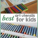 art utensils for kids