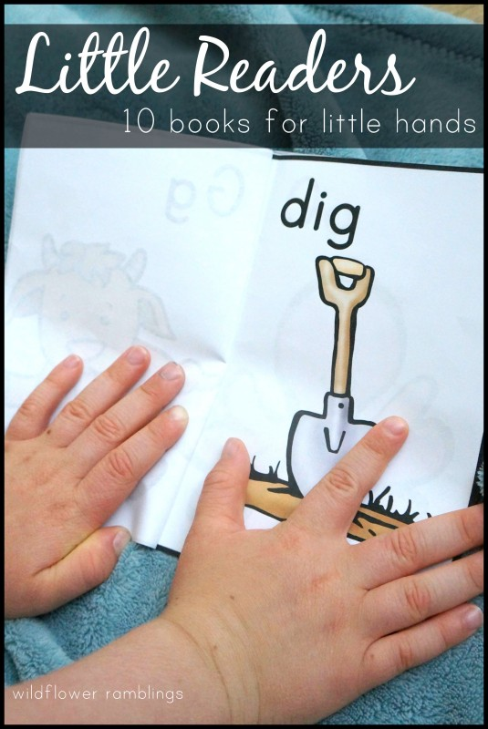 Little phonics readers -- 10 printable books for beginning readers for preschool and kindergarten!