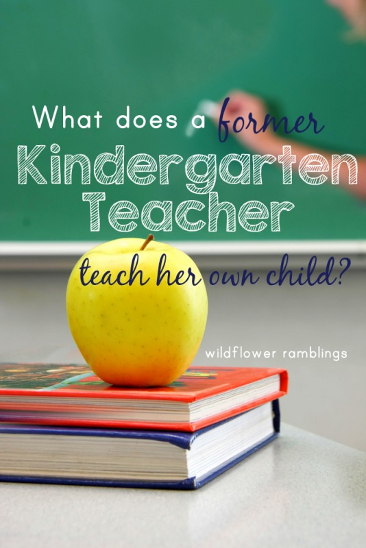 Kindergarten Homeschooling Curriculum plans from a former Kindergarten teacher -- great ideas here for early childhood!