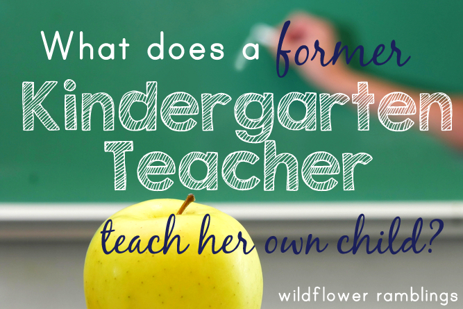Kindergarten homeschooling plans from a former Kindergarten teacher -- great curriculum for classical early childhood!