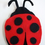 How to make a Felt Ladybug