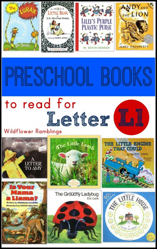 best preschool books for letter l - letter of the week ideas!