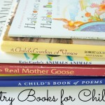 Beautiful poetry books for children