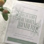 Charlotte Mason Recitation Memory Binder