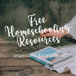 free homeschooling resource